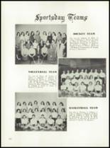 1958 Garden City High School Yearbook Page 146 & 147