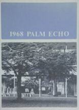 1968 Yearbook Miami Palmetto High School