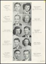 1947 New Richmond High School Yearbook Page 20 & 21