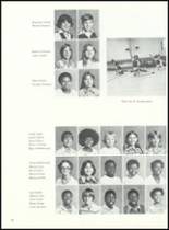 1977 Laurel Junior High School Yearbook Page 64 & 65