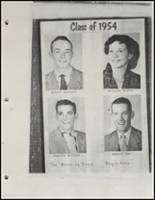 1954 Beggs High School Yearbook Page 30 & 31