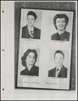 1954 Beggs High School Yearbook Page 32 & 33