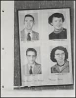 1954 Beggs High School Yearbook Page 34 & 35