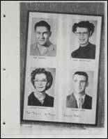 1954 Beggs High School Yearbook Page 36 & 37