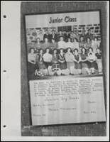 1954 Beggs High School Yearbook Page 46 & 47