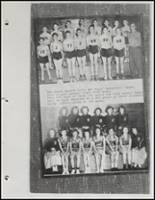 1954 Beggs High School Yearbook Page 82 & 83