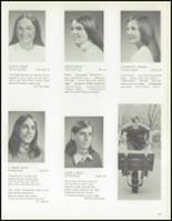 1972 Weston High School Yearbook Page 72 & 73
