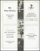 1972 Weston High School Yearbook Page 166 & 167