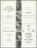 1972 Weston High School Yearbook Page 168 & 169