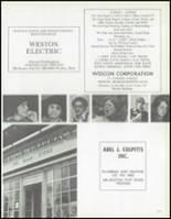 1972 Weston High School Yearbook Page 180 & 181