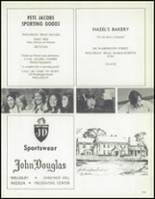 1972 Weston High School Yearbook Page 182 & 183