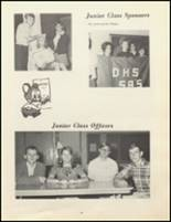 1969 Daleville High School Yearbook Page 58 & 59