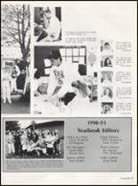 1991 Washington High School Yearbook Page 68 & 69