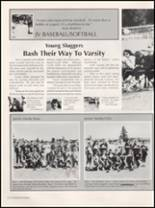 1991 Washington High School Yearbook Page 102 & 103