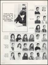 1991 Washington High School Yearbook Page 114 & 115