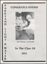 1991 Washington High School Yearbook Page 170 & 171