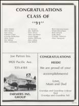 1991 Washington High School Yearbook Page 172 & 173