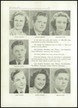 1949 Lacon High School Yearbook Page 20 & 21