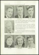 1949 Lacon High School Yearbook Page 22 & 23