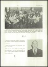1949 Lacon High School Yearbook Page 42 & 43