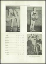 1949 Lacon High School Yearbook Page 56 & 57