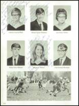 1968 Gouverneur High School Yearbook Page 116 & 117