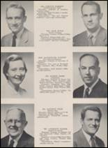 1955 Windsor High School Yearbook Page 14 & 15