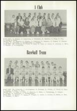 1956 Albany High School Yearbook Page 66 & 67
