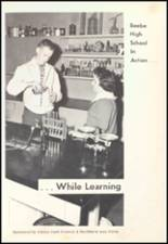 1961 Beebe High School Yearbook Page 16 & 17