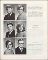 1968 Woodward Community High School Yearbook Page 18 & 19