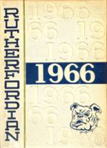 1966 Yearbook Rutherford High School