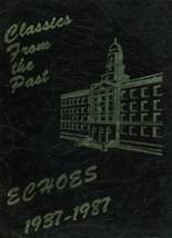 1987 Yearbook Franklin K. Lane High School
