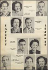 1949 Commerce High School Yearbook Page 12 & 13