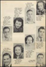 1949 Commerce High School Yearbook Page 14 & 15