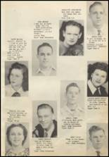 1949 Commerce High School Yearbook Page 16 & 17