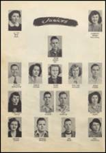 1949 Commerce High School Yearbook Page 18 & 19
