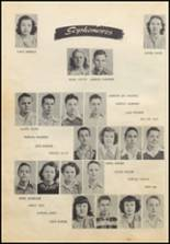 1949 Commerce High School Yearbook Page 22 & 23