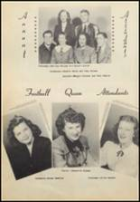 1949 Commerce High School Yearbook Page 34 & 35