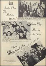 1949 Commerce High School Yearbook Page 42 & 43