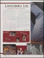 2008 Laingsburg High School Yearbook Page 16 & 17