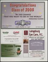 2008 Laingsburg High School Yearbook Page 152 & 153
