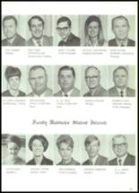 1970 McKinney High School Yearbook Page 16 & 17