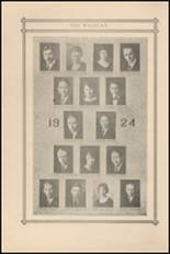 1924 Central High School Yearbook Page 10 & 11