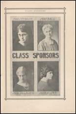 1924 Central High School Yearbook Page 18 & 19