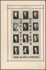 1924 Central High School Yearbook Page 100 & 101