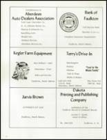1971 Cresbard High School Yearbook Page 70 & 71
