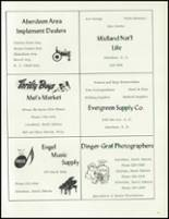 1971 Cresbard High School Yearbook Page 72 & 73