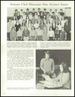 1973 Laurel Valley High School Yearbook Page 56 & 57
