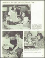 1973 Laurel Valley High School Yearbook Page 70 & 71