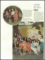 1984 Coral Gables High School Yearbook Page 122 & 123
